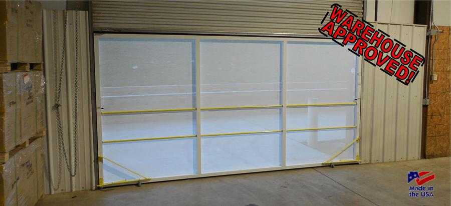 Warehouse Door Screens: Rollaround Screens Bug Screen Rollup Warehouse Doors